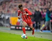 27.01.2018,  Football 1.Liga 2017/2018, 20. match day, FC Bayern Muenchen - TSG 1899 Hoffenheim, in Allianz-Arena Muenchen. Kingsley Coman (Bayern Muenchen) . *** Local Caption *** © pixathlon<br /> <br /> +++ NED + SUI out !!! +++<br /> Contact: +49-40-22 63 02 60 , info@pixathlon.de