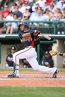 March 23rd 2008:  Yunel Escobar of the Atlanta Braves during a Spring Training game at Osceola County Stadium in Kissimmee, FL.  Photo by:  Mike Janes/Four Seam Images