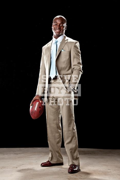 Philadelphia Eagles wide receiver Jeremy Maclin on September 21, 2010 at his home in West Deptford, New Jersey...2010 © Steve Boyle