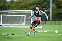 Wayne Routledge of Swansea City in action during the Swansea City Training Session at The Fairwood Training Ground, Wales, UK. Tuesday 11th September 2018
