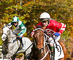 Riders in Red, Green, and White