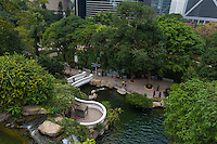 Hong Kong Park in Central, Hong Kong