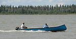 Canoe on Mackenzie River