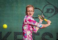 Hilversum, The Netherlands, September 2, 2018,  Tulip Tennis Center, NKS, National Championships Seniors, Womans 35+ final: Regina Balcune (NED)<br /> Photo: Tennisimages/Henk Koster