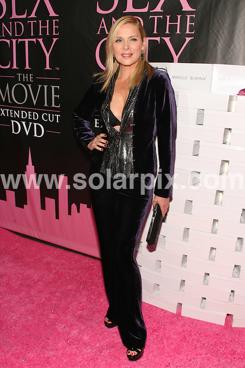 """**ALL ROUND PICTURES FROM SOLARPIX.COM**.**SYNDICATION RIGHTS FOR UK, SPAIN, PORTUGAL, AUSTRALIA, S.AFRICA & DUBAI (U.A.E) ONLY**.Arrivals for the """"Sex and the City: The Movie"""" DVD Launch Party, held at New York Public Library, Fifth Avenue and 42nd Street, New York City, NY, USA. 18th September 2008..This pic: Kim Cattrall..JOB REF: 7406 PHZ(Gaboury)    DATE: 18_09_2008.**MUST CREDIT SOLARPIX.COM OR DOUBLE FEE WILL BE CHARGED* *UNDER NO CIRCUMSTANCES IS THIS IMAGE TO BE REPRODUCED FOR ANY ONLINE EDITION WITHOUT PRIOR PERMISSION*"""