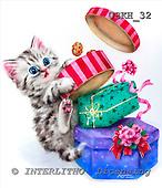 Kayomi, CUTE ANIMALS, paintings, CookieThief_M, USKH32,#AC# stickers illustrations, pinturas ,everyday