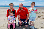 Enjoying the afternoon in Ballyheigue on Sunday, l to r: Samatha and Loralai Frawley, William Russell and Abigail Frawley.