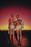 San Tribe, Kalahari Desert, Botswana