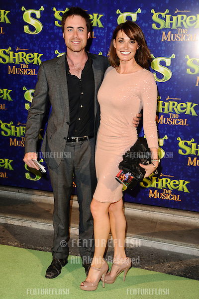 """Sarah Parrish arrives for the 1st night party of """"Shrek The Musical"""" at Somerset House, London. 14/06/2011  Picture by: Steve Vas / Featureflash"""