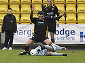 02/02/2008    Copyright Pic: James Stewart.File Name : sct_jspa07_livingston_v_partick_th.ROBERT SNODGRASS IS CHALLENGED FROM BEHIND.James Stewart Photo Agency 19 Carronlea Drive, Falkirk. FK2 8DN      Vat Reg No. 607 6932 25.Studio      : +44 (0)1324 611191 .Mobile      : +44 (0)7721 416997.E-mail  :  jim@jspa.co.uk.If you require further information then contact Jim Stewart on any of the numbers above........