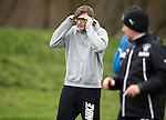 Do not adjust your vision... James Arthur the X Factor winner is training with Rangers