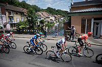 roadside fans cheering the riders on<br /> <br /> Stage 7: Belfort to Chalon-sur-Saône (230km)<br /> 106th Tour de France 2019 (2.UWT)<br /> <br /> ©kramon