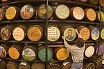 Barrels at Cowie Wine Cellars near Paris, Arkansas