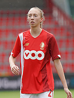 Standard's Lisa Petry (20) pictured during a female soccer game between Standard Femina de Liege and KRC Genk Ladies  on the third matchday of the 2020 - 2021 season of Belgian Womens Super League , Saturday 3 rd of October 2020  in Liege , Belgium . PHOTO SPORTPIX.BE   SPP   SEVIL OKTEM