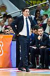 Barcelona's coach Xavi Pascual during Liga Endesa 2015/2016 Finals 3rd leg match at Barclaycard Center in Madrid. June 20, 2016. (ALTERPHOTOS/BorjaB.Hojas)