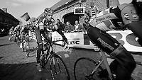 De Ronde van Vlaanderen 2012..George Hincapie would finish his 18th (!!) Tour of Flanders; a record no belgian holds now...