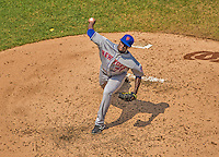 28 July 2013: New York Mets pitcher Gonzalez Germen on the mound against the Washington Nationals at Nationals Park in Washington, DC. The Nationals defeated the Mets 14-1. Mandatory Credit: Ed Wolfstein Photo *** RAW (NEF) Image File Available ***