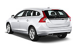 Car pictures of rear three quarter view of a 2015 Volvo V60 Summum 5 Door Wagon angular rear