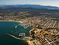 aerial photograph of the City of Monterey, California