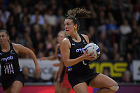 NZ's Claire Kersten during the Cadbury Netball Series Taini Jamison Trophy match between New Zealand Silver Ferns and England Roses at Claudelands Arena in Hamilton, New Zealand on Wednesday, 28 October 2020. Photo: Dave Lintott / lintottphoto.co.nz