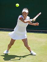 23-6-09, England, London, Wimbledon, Kimiko Date Krumm