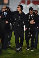 Leandro PAredes, Radja Nainggolan <br /> Latina 17-03-2015 Stadio Domenico Francioni Football Calcio Youth Champions League 2014/2015 AS Roma - Manchester City. Foto Andrea Staccioli / Insidefoto