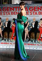 """L'attrice, modella e conduttrice televisiva venezuelana Jennipher Rodriguez posa durante un photocall per la presentazione del film """"La gente che sta bene"""" a Roma, 21 gennaio 2014.<br /> Venezuelan actress, model and tv show host Jennipher Rodriguez poses during a photocall for the presentation of the movie """"La gente che sta bene"""" in Rome, 21 January 2014.<br /> UPDATE IMAGES PRESS/Riccardo De Luca"""