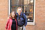 John and Beth at University of Amsterdam, Amsterdam, Netherlands