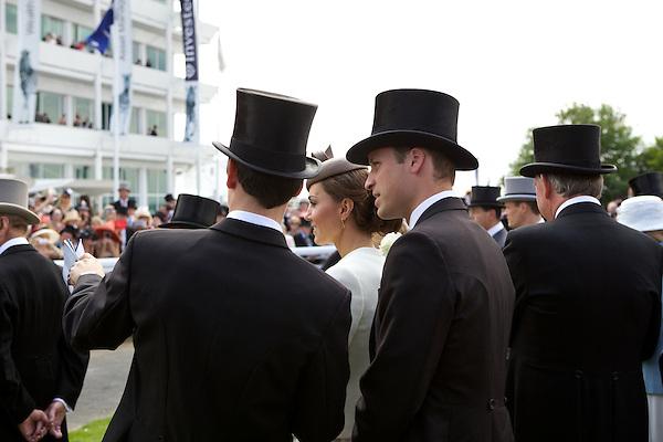 Jake Warren, Catherine Duchess of Cambridge and Prince William