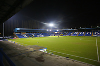 A general view of Gigg Lane, home of Bury FC ahead of the The Checkatrade Trophy match between Bury and Fleetwood Town at Gigg Lane, Bury, England on 9 January 2018. Photo by Juel Miah/PRiME Media Images.