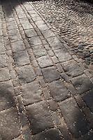 Paving stones, LKouisburg Square, Pinckney Street, Beacon Hill, Boston, MA