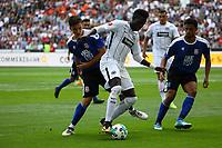 Danny da Costa (Eintracht Frankfurt) gegen Javan Torre Howell (FSV Frankfurt) - 06.08.2017: Eintracht Frankfurt vs. FSV Frankfurt, Saisoneröffnung, Commerzbank Arena