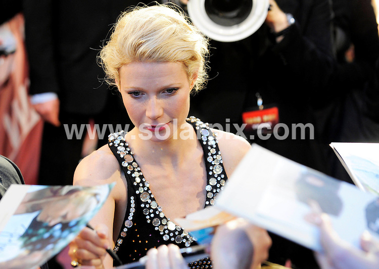**ALL ROUND PICTURES FROM SOLARPIX.COM**.**SYNDICATION RIGHTS FOR UK AND SPAIN ONLY**.The Hollywood actress Gwyneth Paltrow pictured at the Cinemaxx Potsdamer Platz, during the premiere of Iron Man in Berlin..This pic:Gwyneth Paltrow.JOB REF:6214-CPR/Axel Schmidt                     DATE:23_04_08.**MUST CREDIT SOLARPIX.COM OR DOUBLE FEE WILL BE CHARGED* *UNDER NO CIRCUMSTANCES IS THIS IMAGE TO BE REPRODUCED FOR ANY ONLINE EDITION WITHOUT PRIOR PERMISSION*