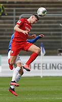 Kopfball Vitaly Janelt (VfL Bochum)- 07.03.2020: SV Darmstadt 98 vs. VfL Bochum, Stadion am Boellenfalltor, 2. Bundesliga<br /> <br /> DISCLAIMER: <br /> DFL regulations prohibit any use of photographs as image sequences and/or quasi-video.