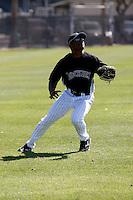 Scott Robinson - Colorado Rockies - 2009 spring training.Photo by:  Bill Mitchell/Four Seam Images