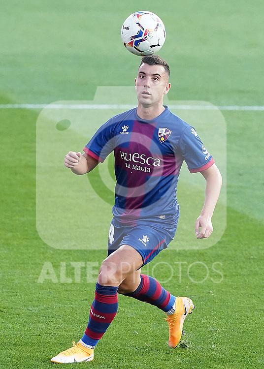 SD Huesca's Borja Garcia during La Liga match. September 30,2020. (ALTERPHOTOS/Acero)