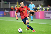Pablo Sarabia of Spain in action during the Uefa Nations League final match between Spain and France at San Siro stadium in Milano (Italy), October 10th, 2021. Photo Andrea Staccioli / Insidefoto