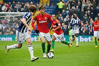 Saturday, 9 March 2013<br /><br />Pictured: Michu of Swansea City<br /><br />Re: Barclays Premier League West Bromich Albion v Swansea City FC  at the Hawthorns, Birmingham, West Midlands