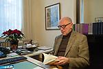Paul BEKAERT abogado de Carles Puigdemomt, en us oficina de Tielt, Bélgica, Diciembre 8, 2017. PHOTO CREDIT © DELMI ALVAREZ