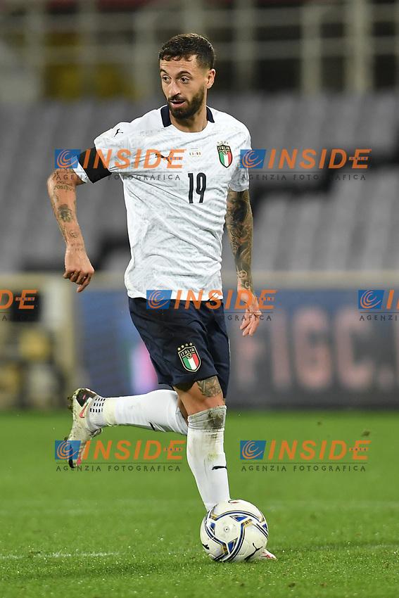 Francesco Caputo of Italia during the friendly football match between Italy and Moldova at Artemio Franchi Stadium in Firenze (Italy), October, 7th 2020. Photo Andrea Staccioli/ Insidefoto