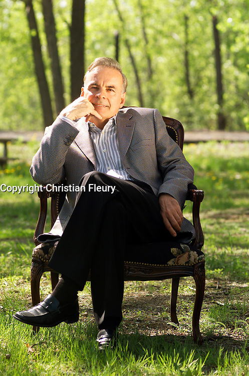 June 2004, File Photo, Montreal (Qc) CANADA<br /> Exclusive Photo<br /> Alain Bouchard , CEO groupe Couche Tard<br /> <br /> (c) 2004 by Christian Fleury / Images Distribution