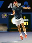 Roger Federer (SUI) defeats Jo Wilfried Tsonga (FRA) 6-3, 7-5, 6-4