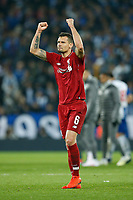 Dejan Lovren of Liverpool celebrates victory at the end of the UEFA Champions League Quarter Final first leg match between Liverpool and Porto at Anfield on April 9th 2019 in Liverpool, England. (Photo by Daniel Chesterton/phcimages.com)<br /> Foto PHC/Insidefoto <br /> ITALY ONLY