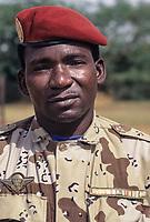 Nigerien Military Officer, Bankilare, Niger.