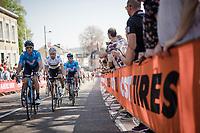 Alejandro Valverde (ESP/Movistar) up the Cauberg<br /> <br /> 54th Amstel Gold Race 2019 (1.UWT)<br /> One day race from Maastricht to Berg en Terblijt (NED/266km)<br /> <br /> ©kramon