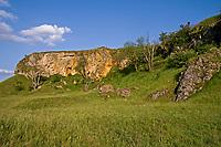 Fels, Goldberg bei Goldburghausen, Schwäbische Alb, Deutschland