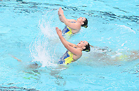 STANFORD, CA; February 18, 2017; Synchronized Swimming, Stanford vs Ohio State, Linderwood.