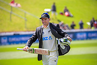 NZ captain Tom Latham during day one of the International Test Cricket match between the New Zealand Black Caps and West Indies at the Basin Reserve in Wellington, New Zealand on Friday, 11 December 2020. Photo: Dave Lintott / lintottphoto.co.nz
