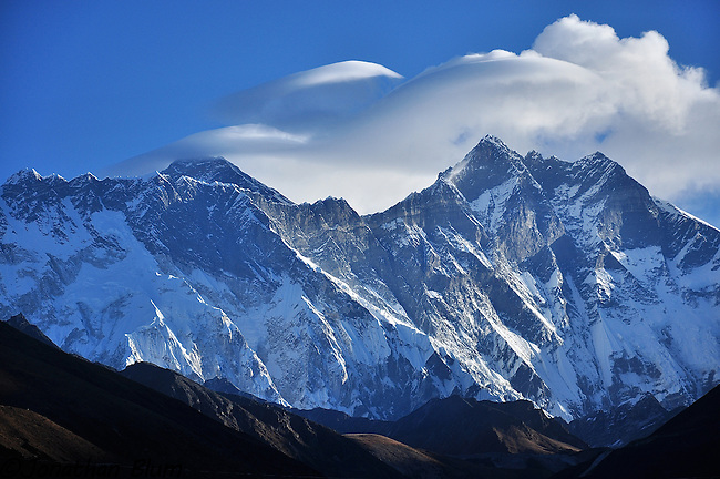 Everest Lhotse Morning