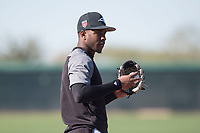 Chicago White Sox shortstop Tim Anderson (7) during Spring Training Camp on February 25, 2018 at Camelback Ranch in Glendale, Arizona. (Zachary Lucy/Four Seam Images)